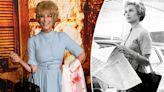 Jamie Lee Curtis wears mom's 'Psycho' look to 'Halloween Kills' premiere