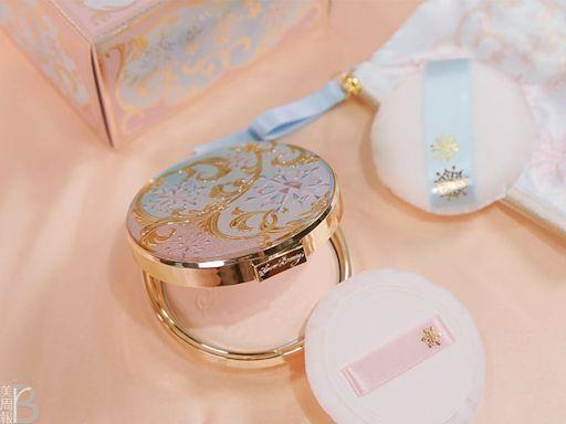 蜜粉餅推薦-心機彩粧夢幻登場的Snow Beauty雪花香氛魔法盒,2021陪你一起漫步在巴黎 小編實測