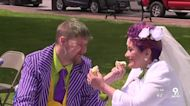 Two people who met in hospice celebrate fairy-tale wedding in Lebanon