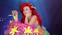 Disney super fan spends THREE MONTHS recreating her favourite scenes from 'The Little Mermaid'
