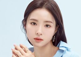 韓國女藝人申世景拍代言品牌最新宣傳照