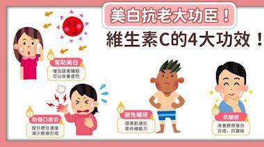 【Heho微動畫】美白抗老大功臣!維生素C的4大功效!