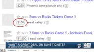 Avoiding scams when looking for deals on Suns tickets