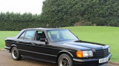 Ex-Beatles Mercedes 500 SEL AMG is your ticket to ride