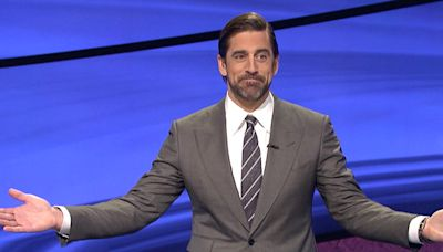 Aaron Rodgers' Guest Hosting Gig on Jeopardy! Led to 14 Percent Ratings Spike for the Game Show: Report