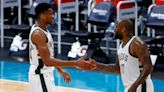 What are the playoff scenarios in play for the Milwaukee Bucks in the last two games?