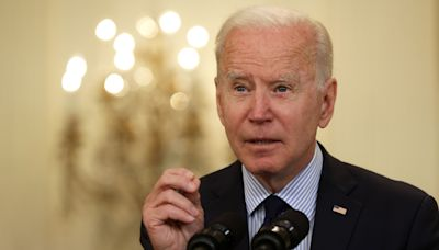 Biden kicks off infrastructure week by meeting with Sen. Manchin, likely gatekeeper of his $2.3T plan