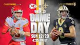 Chiefs vs. Saints live tweets and scoring updates