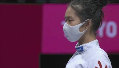 全運會女子重劍 江旻憓一劍險勝孫一文摘銅