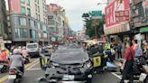 驚險一刻!不明原因撞車後還在開 新莊連環撞車禍1死5傷