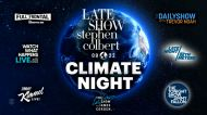 Climate change takes center stage on every late night talk show