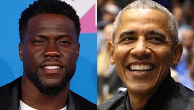 Kevin Hart says Barack Obama got involved with Netflix's 'Fatherhood' because its shows a 'Black man being a good father'