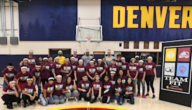 Denver Nuggets promote fitness and exercise in TeamFIT and Jr. Nuggets Clinics | Denver Nuggets