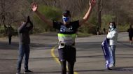 Blind runner 'born to run' completes solo 5K, Google technology in hand