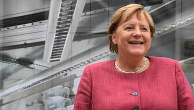 El 'rombo' de Merkel, gesto que se volvió icónico en todo el mundo