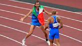 Olympics-Athletics-Forza Italia! Jacobs and Tamberi make it a night to remember