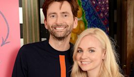 David Tennant's wife shares incredibly rare photo of all five children
