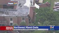 Overhang Partially Collapsed At Miami-Dade Condo