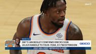 How Julius Randle's extension impacts Knicks, Damian Lillard update | Inside Out | SportsNite