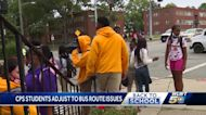 CPS students adjust to bus route issues