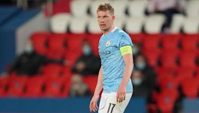 Kevin De Bruyne: Comeback in Paris 'doesn't matter' until City secure final spot