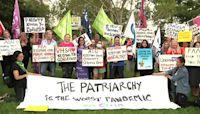 Australian women mark International Women's Day