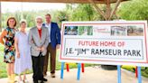 """City of Concord names future northwest park the J.E. """"Jim"""" Ramseur Park in honor of former council member"""