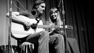 Review: The Joni Mitchell-James Taylor saga makes for a potent novel that stands on its own