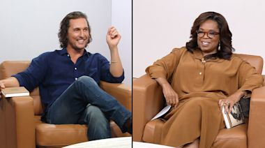 Matthew McConaughey Tells Oprah Winfrey About Meeting Wife Camila Alves for the First Time