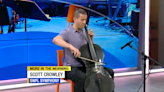 Renowned cellist Scott Crowley performs live on More in the Morning