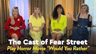 """Watch the Cast of Fear Street Play a Creepy Game of Horror Movie """"Would You Rather"""""""