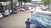 通緝犯在苗栗知名休息站企圖撞警 挨轟7槍送醫畫面曝光│TVBS新聞網