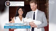 Queen Elizabeth, Prince William and Kate Middleton Send Birthday Wishes to Archie as He Turns 2