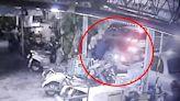 毒蟲開車衝撞拒捕遭開槍還擊 員警雙手掛彩縫16針