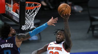 NBA/下半場封鎖黃蜂攻勢 尼克笑納7連勝