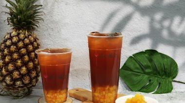 用了2種鳳梨!清心「鳳梨紅茶」新登場 還吸得到糖蜜鳳梨丁