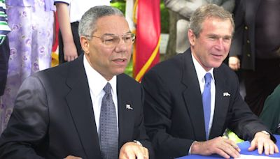 President George W. Bush Remembers Colin Powell as 'Great Public Servant,' a 'Family Man and a Friend'