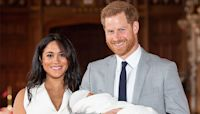 Prince Harry & Meghan Markle Share Photo From Archie's Christening For Prince Charles' Birthday
