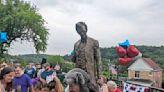 Abraham Lincoln statue returns to street corner in Wilkinsburg