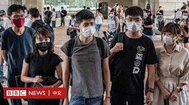 香港六四集會案:黃之鋒等人被判監4至10個月
