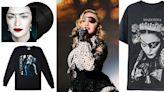 流行女皇瑪丹娜推出紀錄片系列週邊!《X夫人巡演全紀錄》搖滾風配件、潮流連帽衫等多款紀念品粉絲必收