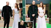 William and Kate sport recycled outfits as they hail winners at Earthshot awards