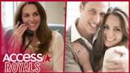 Kate Middleton Wears Recycled Blouse From Engagement Photos 10 Years Later