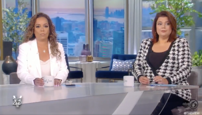'The View' thrown into chaos when Sunny Hostin and Ana Navarro test positive for COVID seconds before Kamala Harris interview