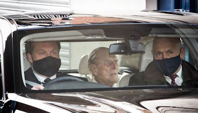 Duke of Edinburgh is reunited with Queen after month-long hospital stay
