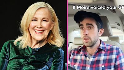 Guy Imagines Moira Rose As His GPS Voice