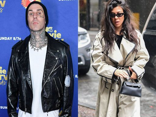 Travis Barker has a Goop candle that 'smells like Kourtney's orgasm'