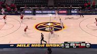 CJ McCollum with a buzzer beater vs the Denver Nuggets