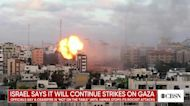 """Israeli officials say a cease-fire is """"not on the table"""" until Hamas stops its rocket attacks"""