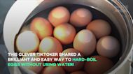 TikTok hack shows how to hard-boil eggs without water